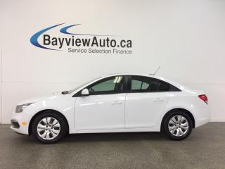 Used 2015 Chevrolet Cruze LT- 6 SPEED|TURBO|A/C|REV CAM|PIONEER! for sale in Belleville, ON