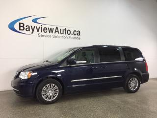 Used 2015 Chrysler Town & Country - ALLOYS|REM STRT|HTD STS|3 ZONE CLIMATE|PWR TRNK! for sale in Belleville, ON