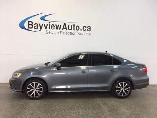 Used 2015 Volkswagen Jetta COMFORTLINE- TDI|6 SPD|ROOF|TINT|HTD STS|REV CAM! for sale in Belleville, ON