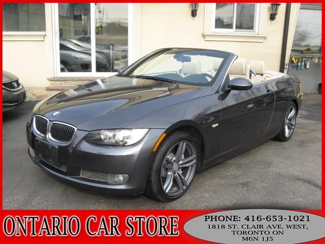 Used BMW I Convertible NAVIGATION For Sale In Toronto - Bmw 335i convertible 2008
