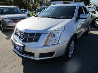 Used 2010 Cadillac SRX LOADED 'SPORTY' 5 PASSENGER 3.0L - V6.. LEATHER.. HEATED SEATS.. PANORAMIC ROOF.. CD/AUX/USB INPUT.. BOSE AUDIO.. for sale in Bradford, ON