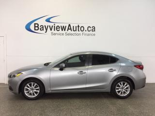 Used 2014 Mazda MAZDA3 GS- SKYACTIV| ALLOYS|TINT|ROOF|HTD STS|REV CAM! for sale in Belleville, ON