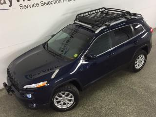 Used 2015 Jeep Cherokee NORTH- 4x4|LIGHT BAR & PODS|BFG'S|REV CAM|HTD STS! for sale in Belleville, ON