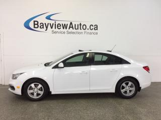 Used 2015 Chevrolet Cruze LT- TURBO|REM STRT|ROOF|HTD LTHR|PIONEER|REV CAM! for sale in Belleville, ON