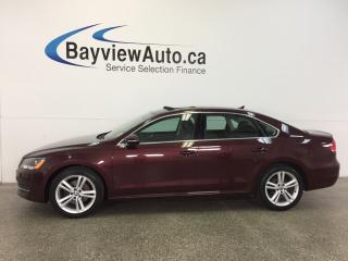 Used 2012 Volkswagen Passat COMFORTLINE- 2.5L|ALLOYS|ROOF|HTD LTHR|BLUETOOTH! for sale in Belleville, ON
