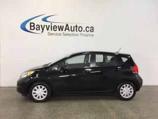 Used 2014 Nissan Versa Note S- 1.6L! AUTO! A/C! REV CAM! BLUETOOTH! CRUISE! for sale in Belleville, ON