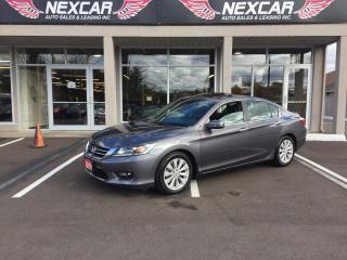 Used 2014 Honda Accord EX-L AUT0 LEATHER SUNROOF BACKUP CAMERA 35K for sale in North York, ON