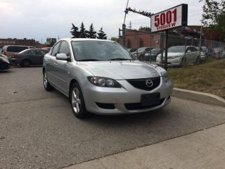 Used 2006 Mazda MAZDA3 AUTO,S/ROOF,MAGS,SAFETY+3YEARS WARRANTY INCLUDED for sale in North York, ON