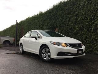 Used 2015 Honda Civic LX + HEATED FT SEATS + BACK-UP CAMERA + NO EXTRA DEALER FEES for sale in Surrey, BC