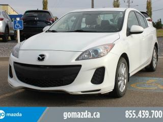 Used 2013 Mazda MAZDA3 GS-SKY POWER OPTIONS HEATED SEATS BLUETOOTH ACCIDENT FREE for sale in Edmonton, AB