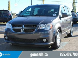Used 2016 Dodge Grand Caravan Crew ALLOYS BLUETOOTH PRIVACY GLASS BRAND NEW TIRES ACCIDENT FREE LOCAL for sale in Edmonton, AB