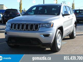 Used 2017 Jeep Grand Cherokee Laredo 4X4 POWER OPTIONS BACK UP CAM ACCIDENT FREE for sale in Edmonton, AB