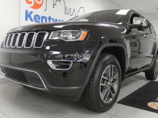 Used 2018 Jeep Grand Cherokee Limited JEEP JEEP- with heated power leather seats and heated steering wheel, sunroof, and power liftgate for sale in Edmonton, AB