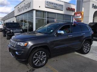 Used 2017 Jeep Grand Cherokee Overland..DVD/Navi/Pan Roof for sale in Burlington, ON