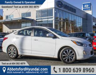 Used 2017 Hyundai Accent SE GREAT CONDITION & BC OWNED for sale in Abbotsford, BC