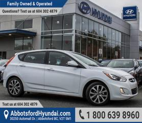 Used 2017 Hyundai Accent SE BC OWNED & GREAT CONDITION for sale in Abbotsford, BC