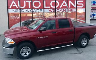 Used 2012 Dodge Ram 1500 ST SXT-ALL CREDIT ACCEPTED for sale in Scarborough, ON
