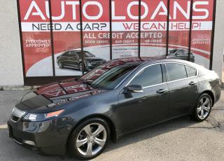 Used 2013 Acura TL Base TL-ALL CREDIT ACCPTED for sale in Scarborough, ON