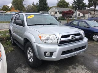 Used 2006 Toyota 4Runner 4dr SR5 V6 Auto 4WD (Natl) for sale in Coquitlam, BC
