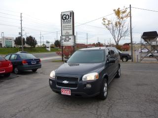 Used 2008 Chevrolet Uplander LT1,TOP OF THE LINE,DVD,POWER SLIDING DOORS for sale in Kitchener, ON