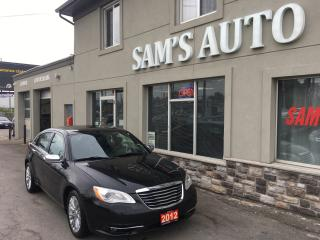 Used 2012 Chrysler 200 Limited for sale in Hamilton, ON