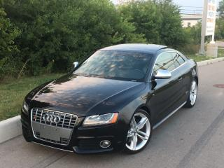 Used 2008 Audi S5 NAVI/BANG&OLUFSEN **ACCIDENT FREE** for sale in Mississauga, ON