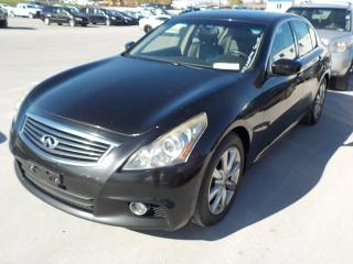 Used 2010 Infiniti G37 XS for sale in Innisfil, ON