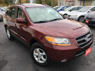 Used 2009 Hyundai Santa Fe GLS/AWD/LEATHER/ROOF/LOADED/ALLOYS for sale in Scarborough, ON