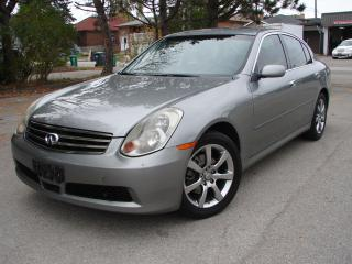 Used 2005 Infiniti G35X Luxury for sale in Mississauga, ON