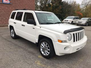 Used 2008 Jeep Patriot 4X4 - SAFETY/WARRANTY INCLUDED for sale in Cambridge, ON
