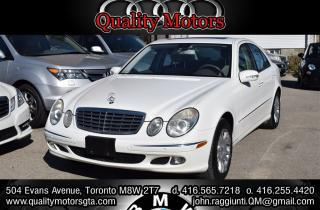 Used 2006 Mercedes-Benz E-Class Base for sale in Etobicoke, ON