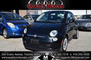Used 2013 Fiat 500 Pop for sale in Etobicoke, ON