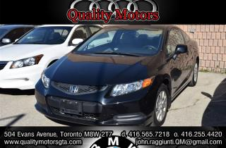 Used 2012 Honda Civic LX (A5) for sale in Etobicoke, ON
