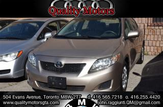 Used 2009 Toyota Corolla CE for sale in Etobicoke, ON
