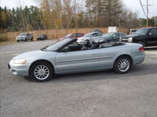 Used 2003 Chrysler Sebring Limited  for sale in Fenelon Falls, ON