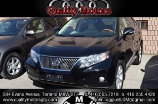 Used 2010 Lexus RX 350 PREMIUM TOURING NAVIGATION for sale in Etobicoke, ON