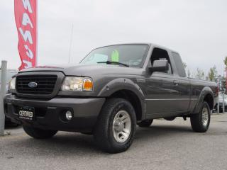 Used 2008 Ford Ranger SUPER CAB / ACCIDENT FREE / LOCAL TRUCK for sale in Newmarket, ON