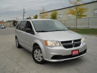 Used 2012 Dodge Grand Caravan 7 passenger, Automatic, certified, 3 years warrant for sale in North York, ON