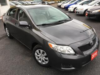 Used 2010 Toyota Corolla CE/AUTO/4-CYL/CHEAP ON GAS/DRIVES LIKE NEW for sale in Scarborough, ON