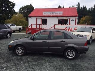 Used 2002 Ford Focus SE for sale in Parksville, BC