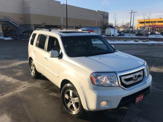 Used 2011 Honda Pilot EX-L, AWD, 8 passengers, Leather, Sunroof, backup for sale in North York, ON