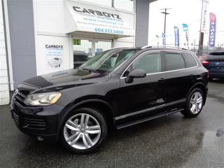 Used 2012 Volkswagen Touareg EXECLINE for sale in Langley, BC