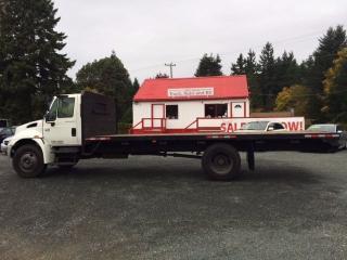 Used 2007 International DuraStar 4300 Flatdeck for sale in Parksville, BC