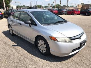 Used 2007 Honda Civic DX-G - NO ACCIDENT/SAFETY/WARRANTY INCLUDED for sale in Cambridge, ON