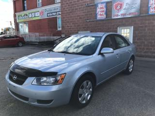 Used 2008 Hyundai Sonata NO ACCIDENT/SAFETY/WARRANTY INCLUDED for sale in Cambridge, ON