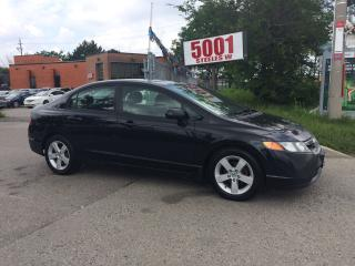 Used 2006 Honda Civic EXTRA CLEAN,4DOOOR,SAFETY+3YEARS WARRANTY INCLUDED for sale in North York, ON