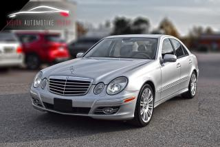 Used 2008 Mercedes-Benz E-Class 5.5L |UPGRADED Exhaust|AMG PKG| for sale in North York, ON
