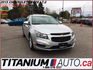 Used 2015 Chevrolet Cruze 2-LT+Camera+Heated Leather+Sunroof+Remote Start+XM for sale in London, ON