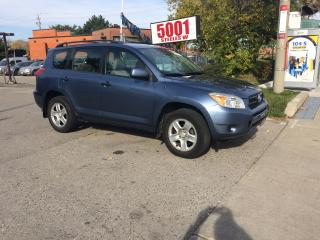 Used 2007 Toyota RAV4 AUTO,AWD,4CYL,SAFETY+3YEARS WARRANTY INCLUDED for sale in North York, ON