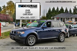 Used 2005 BMW X3 2.5i, Local, No Accidents, Sunroof, Clean! for sale in Surrey, BC